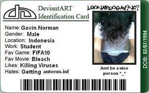 my dA ID by leonardogavinci