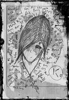 emo drawing by leonardogavinci