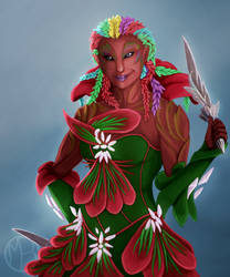 Commission - Nuriel by FlameSeekerKesh