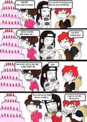 birthday cake by AceroTiburon