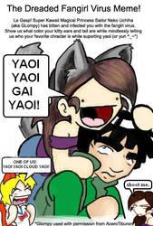 fangirl virus meme by AceroTiburon