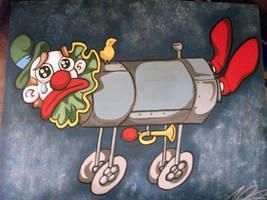 sad clown iron lung gift by AceroTiburon