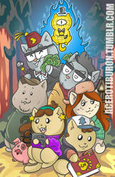 Gravity Falls  by AceroTiburon