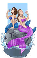 siren mermaid commission by AceroTiburon
