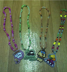 Kandi Necklaces by never-and-never