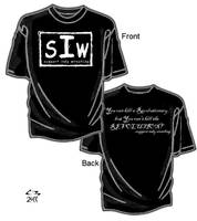Support Indy Wrestling T-shirt by simplemanAT