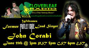 Cloverleaf Radio - John Corabi Mini Flyer by simplemanAT