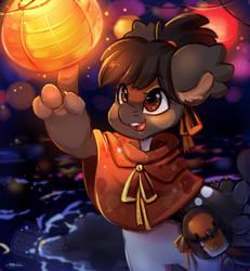 Paper Lanterns by MrsRemi