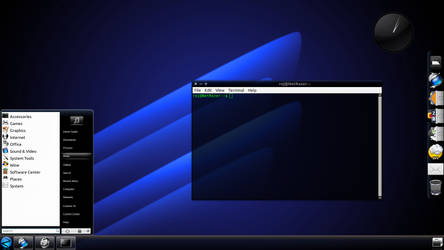 August 2012 Desktop - The Neon Afterglo Edition by roj