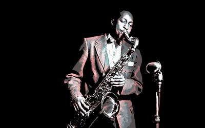 Jazz Icons - 'Hank' by roj