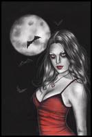 Seductive Vampire by TheDarkRayne