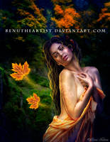 Golden Autumn by TheDarkRayne