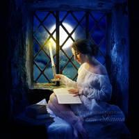 The Reader by TheDarkRayne