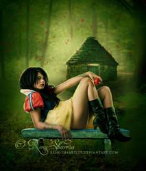 Dark Tales : Snow White by TheDarkRayne