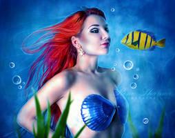 The Little Mermaid by TheDarkRayne