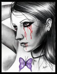 Bleeding Robin by TheDarkRayne
