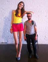 Tall Model short man by lowerrider