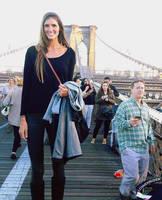 Tall girl bridge by lowerrider