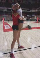 Volleyball Hug by lowerrider