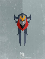 Flat Zed V4 - League Of Legends by H-4rt