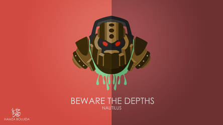 Nautilus - League Of Legends by H-4rt
