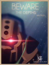 Beware the depths - Nautilus by H-4rt