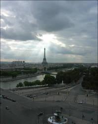 Paris - Vue generale by Louchette