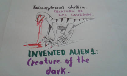 INVENTED ALIEN 1 by DAEMON-CANCHIG