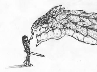 Lost knight and the last drago by sora-si-tukang-kunci