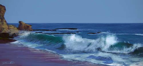Beach Study by odical