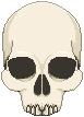 Skull Pixel by HystericalVixen