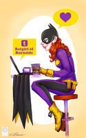Cam Stewart Batgirl by e-carpenter