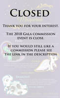 2018 Gala Packages - [CLOSED] by Nstone53