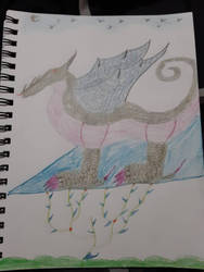 nice dragon by SquidKitty1994