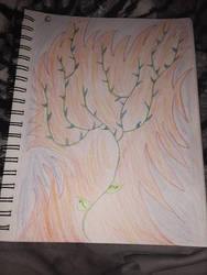 vine in fire by SquidKitty1994