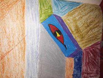 eye in a box by SquidKitty1994