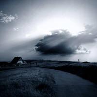 When sun meet clouds by AlexandraSophie
