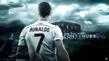 Cristiano Ronaldo 2014/15 Wallpaper by AlbertGFX