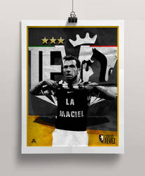 Carlos Tevez Poster by AlbertGFX