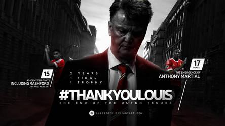 Thank You, Louis van Gaal! by AlbertGFX
