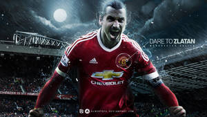 Dare to Zlatan Ibrahimovic by AlbertGFX