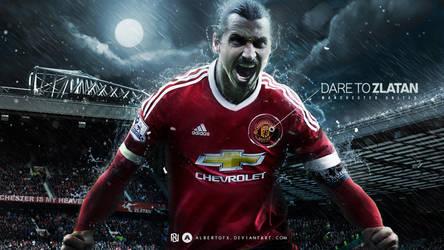 Dare to Zlatan Ibrahimovic by AlbertGFX