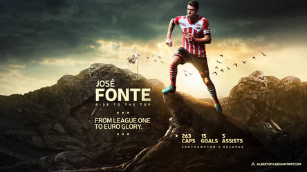 Jose Fonte 2016/17 Wallpaper by AlbertGFX