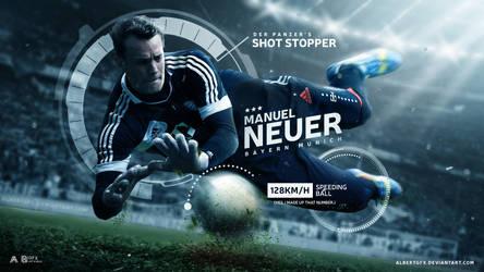 Manuel Neuer 2016/17 Wallpaper by AlbertGFX