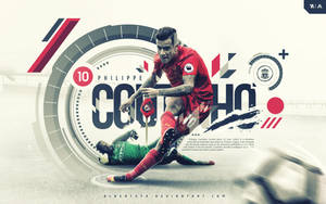 Philippe Coutinho Wallpaper 2016/2017 by AlbertGFX