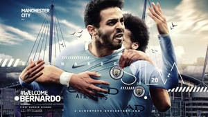 Bernardo Silva Manchester City Wallpaper by AlbertGFX