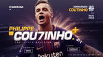 Philippe Coutinho Barcelona Wallpaper by AlbertGFX