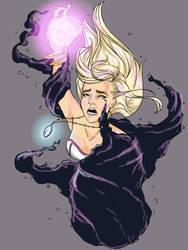 Cursed Sorceress by rainbow-crash29