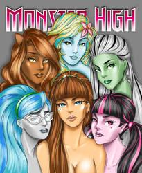 Monster High by rainbow-crash29