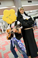 Hoshi + Sister by moondabor